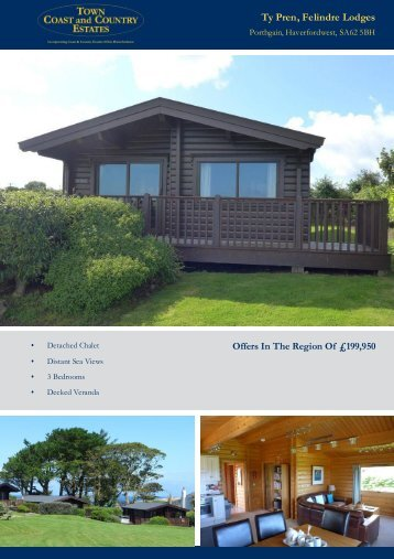 Ty Pren Felindre Lodges Offers In The Region Of £199,950
