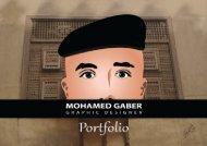 MOHAMED GABER  - GRAPHIC DESIGNER