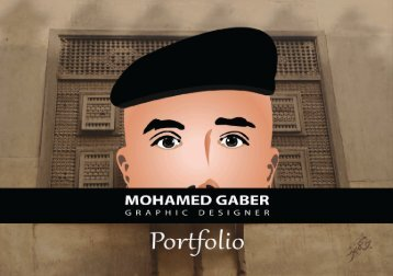 MOHAMED GABER  - GRAPHIC DESIGNER