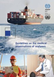 Guidelines on the MEdical Examination of Seafarers 2013