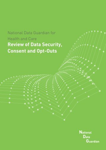 Review of Data Security Consent and Opt-Outs
