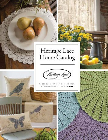 Heritage Lace Home Catalog