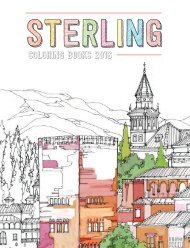 Sterling Coloring Books 2016