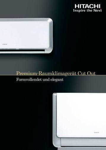 Premium-Raumklimagerät Cut Out - Kälte Bast GmbH