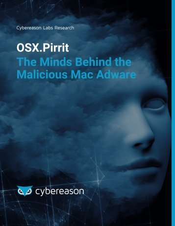 OSX.Pirrit The Minds Behind the Malicious Mac Adware