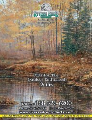 Rivers Edge 2016 Catalog