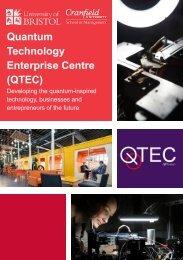 Quantum Technology Enterprise Centre (QTEC)