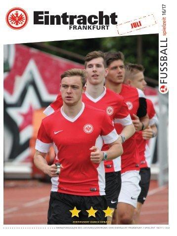 Eintracht Frankfurt Spielzeit 16/17 Juli 2016