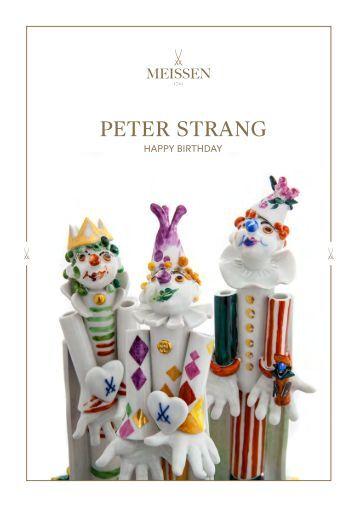 MEISSEN: Peter Strang Jubiläums-Edition