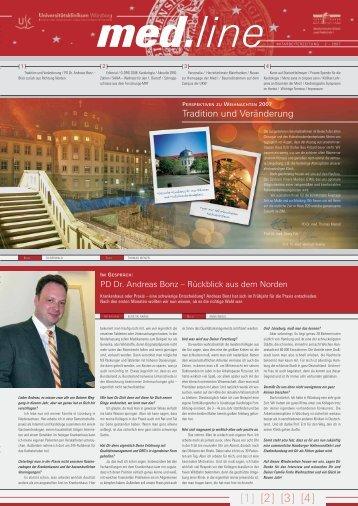 line - Medizinischen Klinik - Universitätsklinikum Würzburg