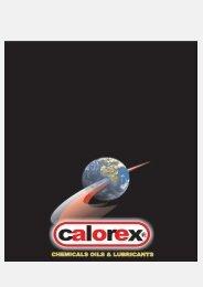 Calorex Hellas SA Προϊοντικός Κατάλογος