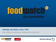 foodwatch-Umfrage-CETA-TTIP