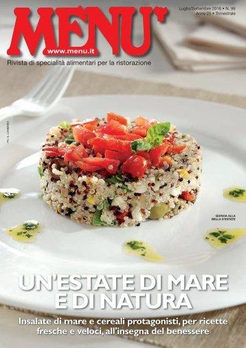 MENU n.99 - Luglio/Settembre 2016