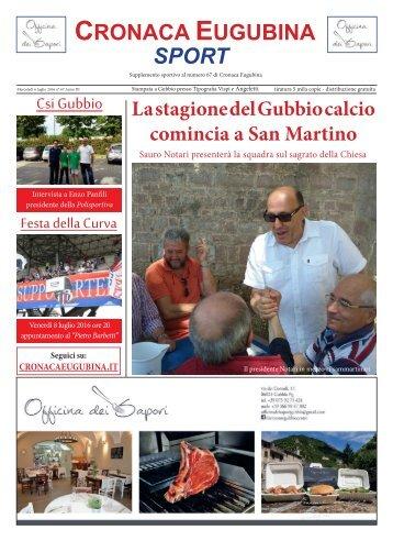 Cronaca Eugubina Sport - n.67+