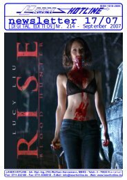 newsletter 17/07 - Laser Hotline