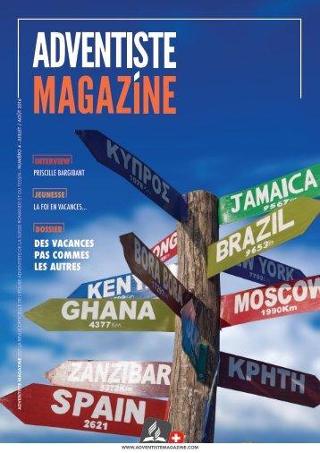 Adventiste-Magazine > Juillet / Août 2016
