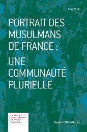 MUSULMANS DE FRANCE  UNE COMMUNAUTÉ PLURIELLE