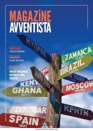 Magazine Avventista > Luglio / Agosto 2016