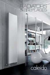 Caleido 2016 Design Radiators & Fireplaces collection by InterDoccia