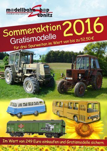 Sommeraktion 2016