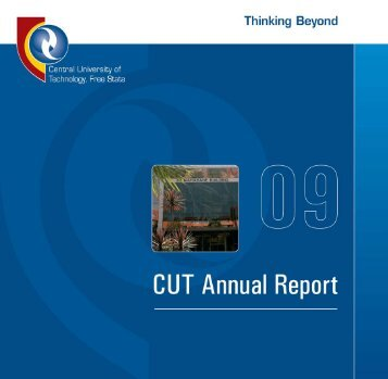 CUT Annual Report 2009
