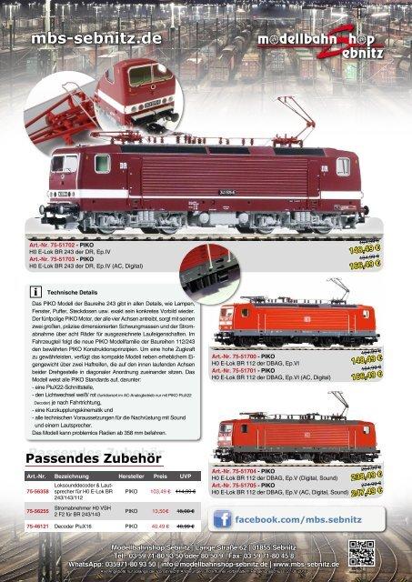 * V2 DDR E 42 DR Ersatzteil PIKO HO Loks E 11 - Kontakt Drehgestell