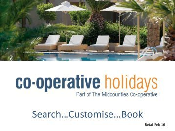 RETAIL Cooperative Holidays Launch Pack  User Guide
