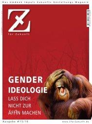 Z15/16 GENDER-IDEOLOGIE  Leseprobe