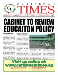 Caribbean Times 46th Issue - Thursday 7th July 2016