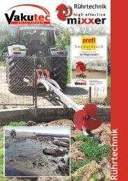 Rührtechnik Traktormixer