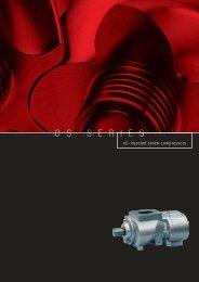 Ingersoll-rand oil injected screw compressor