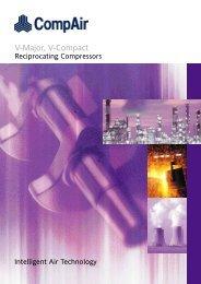 Compair Reciprocating Compressor V_compact_V_major