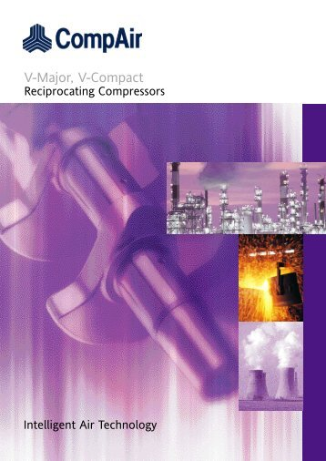 Compair Reciprocating Compressor V_compact_V_major