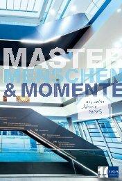 Master, Menschen & Momente