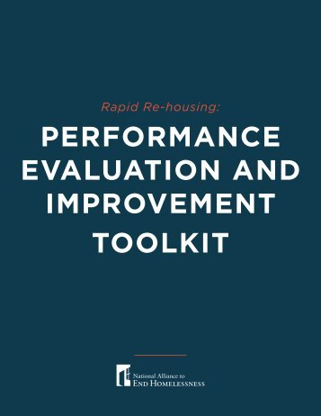 performance evaluation and improvement toolkit