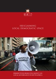 (Re)Claiming Local Democratic Space