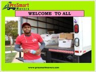 Long-Distance Moving in Virginia| ProSmart Movers
