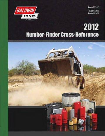 Baldwin 2012 Nmbr-Finder Cross-Ref Ctlg