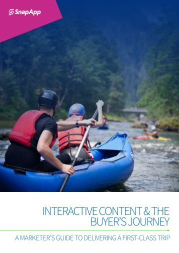 SnapApp Interactive Content Buyers Journey