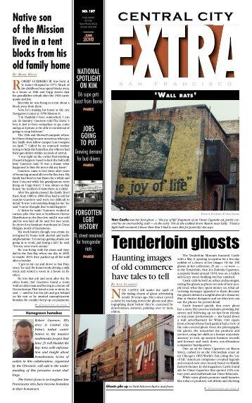 Tenderloin ghosts