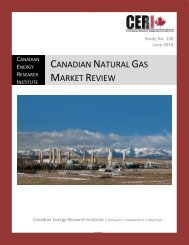 CANADIAN NATURAL GAS MARKET REVIEW