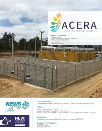 Newsletter ACERA Junio 2016