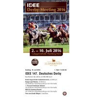 Derby-Meeting 2016 - 07. Renntag - 10.07.2016