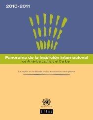Panorama de la inserción internacional - Cepal