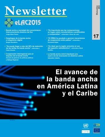 El avance de la banda ancha en América Latina y el Caribe - Cepal