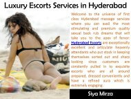 Luxury Escorts Services in Hyderabad