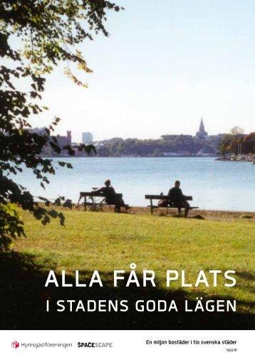 ALLA FÅR PLATS