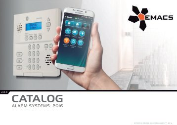Alarm Systems Catalog 2016 - version 1.0.0