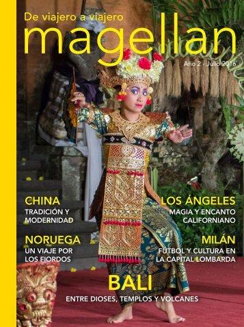 Revista de viajes Magellan - Julio 2016