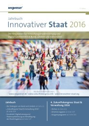 Jahrbuch »Innovativer Staat« 2016